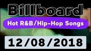 Billboard Top 50 Hot R B Hip Hop Rap Songs December 8 2018