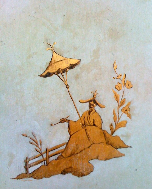 xx..tracy porter..poetic wanderlust-Chinoiserie - Memento Mori by Lynne Rutter