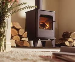 wallpaper behind wood burner stove - Google Search