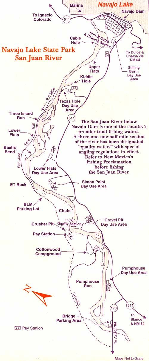 San Juan River Fly Fishing Information The San Juan River is located in the northwest corner of New Mexico, the San Juan River is world renowned for providing