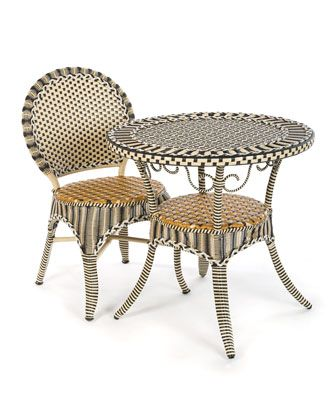 Courtyard+Outdoor+Cafe+Chair+by+MacKenzie-Childs+at+Neiman+Marcus.