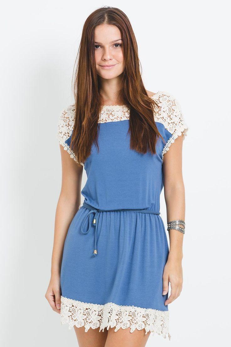 modelos de vestidos com renda guipir e viscose - Pesquisa Google