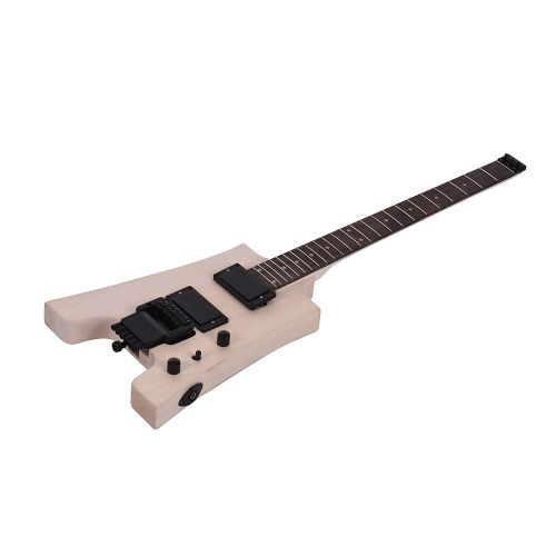 Shop best 1# ammoon DIY Electric Guitar Kit Without Headstock from Tomtop.com at fast shipping. Various discounts are waiting for you! #toys #hobbies