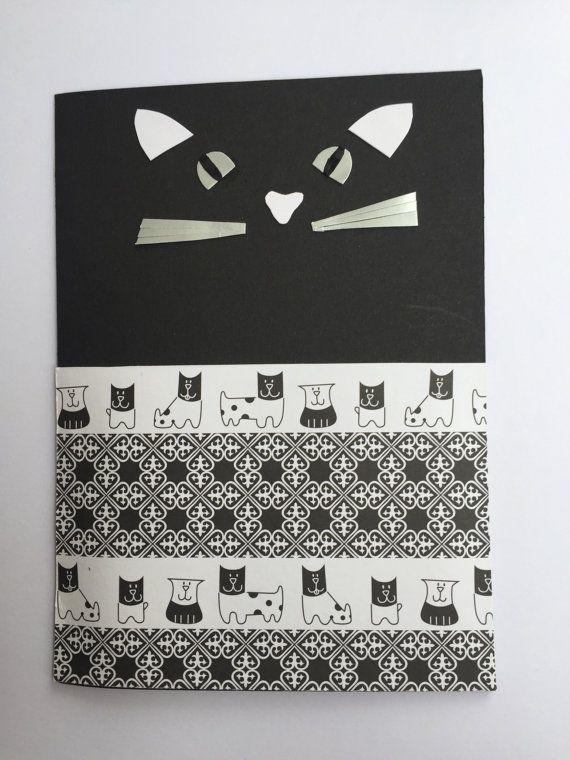 Biglietto d'auguri Buon Compleanno Biglietto animali Biglietto gatto