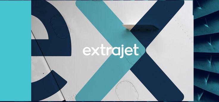 """다음 @Behance 프로젝트 확인: """"Extrajet"""" https://www.behance.net/gallery/33943930/Extrajet"""
