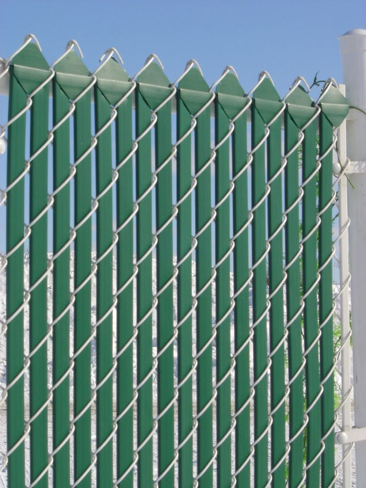 21 best chain link fence adornment images on pinterest fence privacy slats for chain link fencing workwithnaturefo