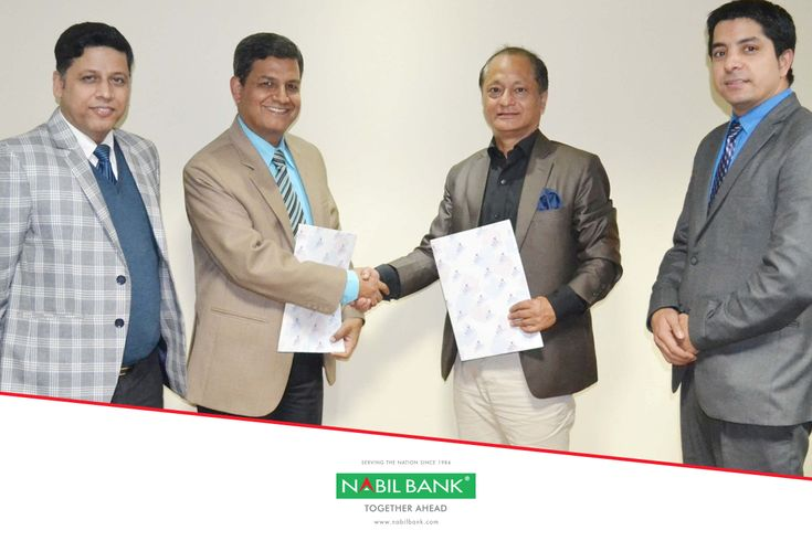We have signed Memorandum of Understanding (MOU) with National Banking Institute (NBI) on 12 December, 2017 for strategic alliance whereby NBI would provide exclusively customized training programs to the bank for human capital development during the fiscal year 2074-75. The MOU was signed by Mr. Anil Kumar Khanal, Deputy CEO of Nabil Bank and Mr. Sanjib Subba, CEO of NBI.