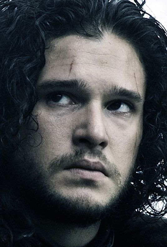 Kit Harington comme Jon Snow - Game of Thrones 5