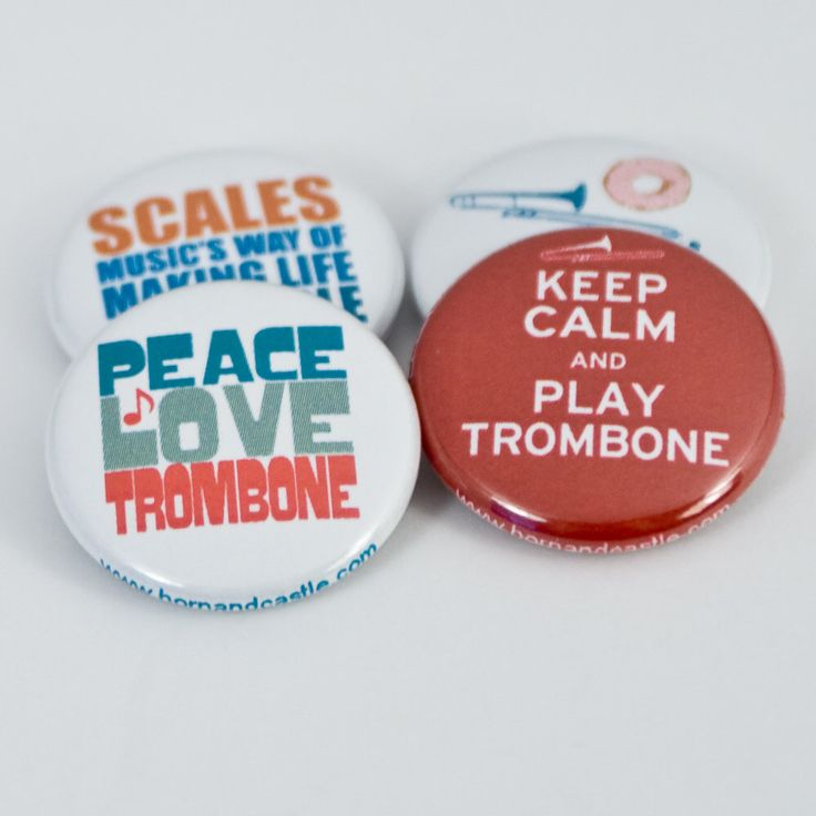 Keep Calm and Play Trombone plus three Marching Band and Music Buttons or Magnets by hornandcastle on Etsy https://www.etsy.com/listing/110402102/keep-calm-and-play-trombone-plus-three