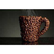 фотообои для  кафе чашка из кофейных зерен - заказать 15100121