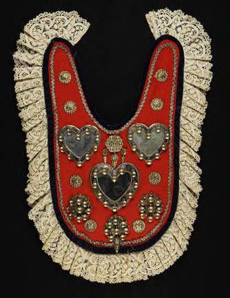 Wedding crown, brudekrone ArtistMagnus Aase, silversmith DescriptionSilver, gilded silver, wool, silk, glass, 18 cm, 7 1/8 in diameter. Pl...