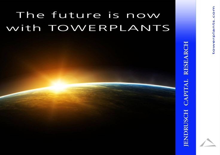 The future is now with TOWERPLANTS