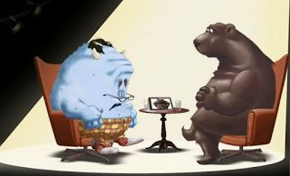 The Very Cranky Bear and a Freebie