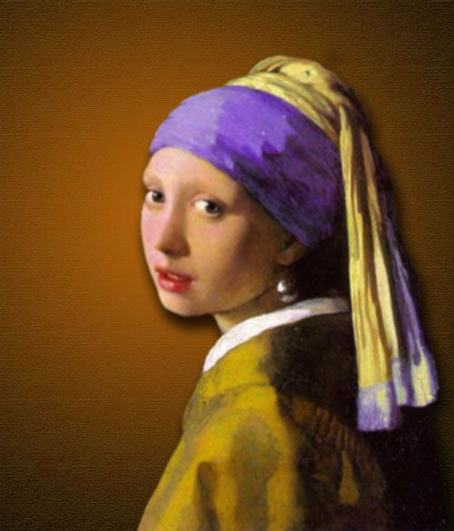 Johannes Vermeer -Girl with a pearl earring: Votes Paintings, Pearl Earrings, Art, Vermeer Paintings