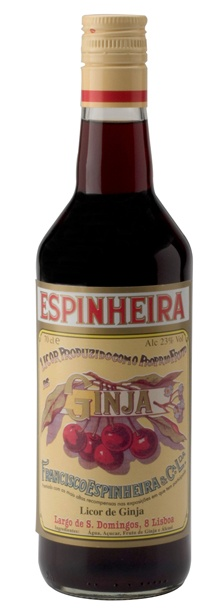 """GINGINHA ESPINHEIRA  Legend has it that Francisco Espinheira, a monk of Santo António Church, was the first to try and infuse sour cherries in """"aguardente"""" (Portuguese for """"burning water"""", a high alcohol content liquid), with sugar, water and cinnamon. The drink was first introduced on the charismatic counter of Ginginha, founded by an entrepreneur from Galicia, that continues to serve drinks in Largo de São Domingos (Rossio). Ginginha, a close relative to """"kirsh"""", became Lisbon's typical…"""