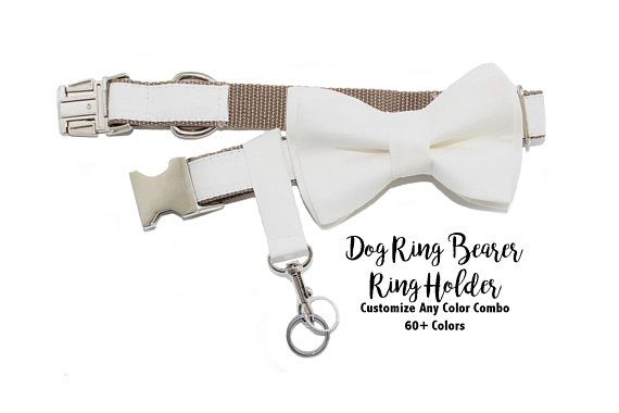 Original Dog Ring Bearer Ring Holder ATTACHMENT ONLY Secure Removable Attachment Wedding Dog