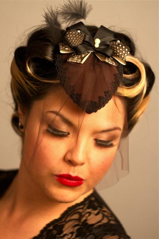 Design Cocktail Hat #millinery #judithm #hats