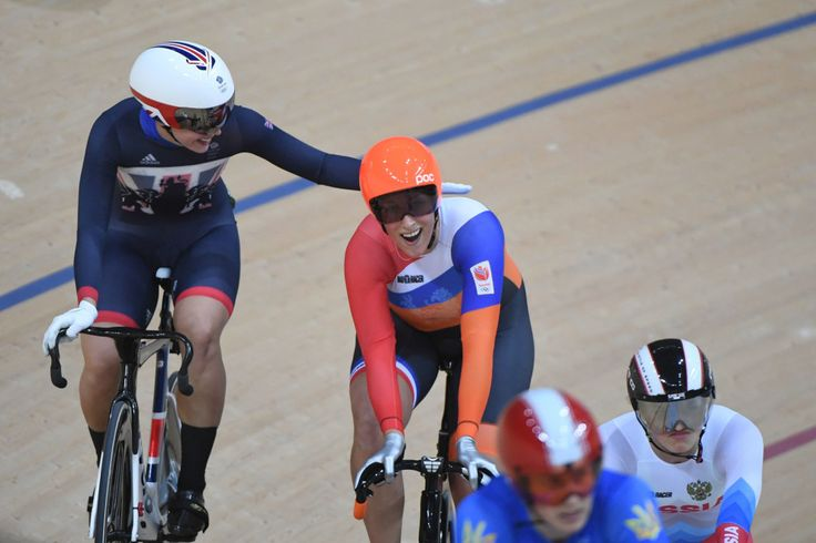 Rebecca James: Silver in the women's keirin (13 August)