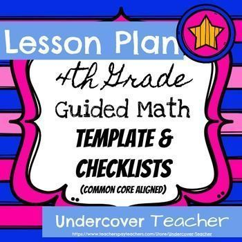 220 best 3-5 Math images on Pinterest Guided reading, Math - math lesson plan template