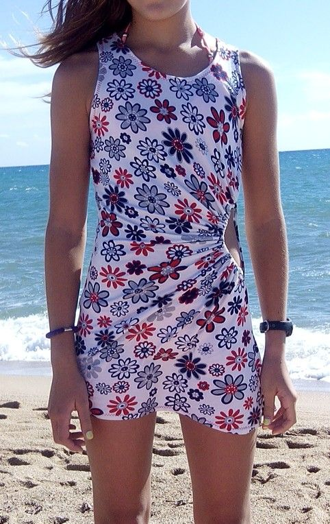Mini vestido playa