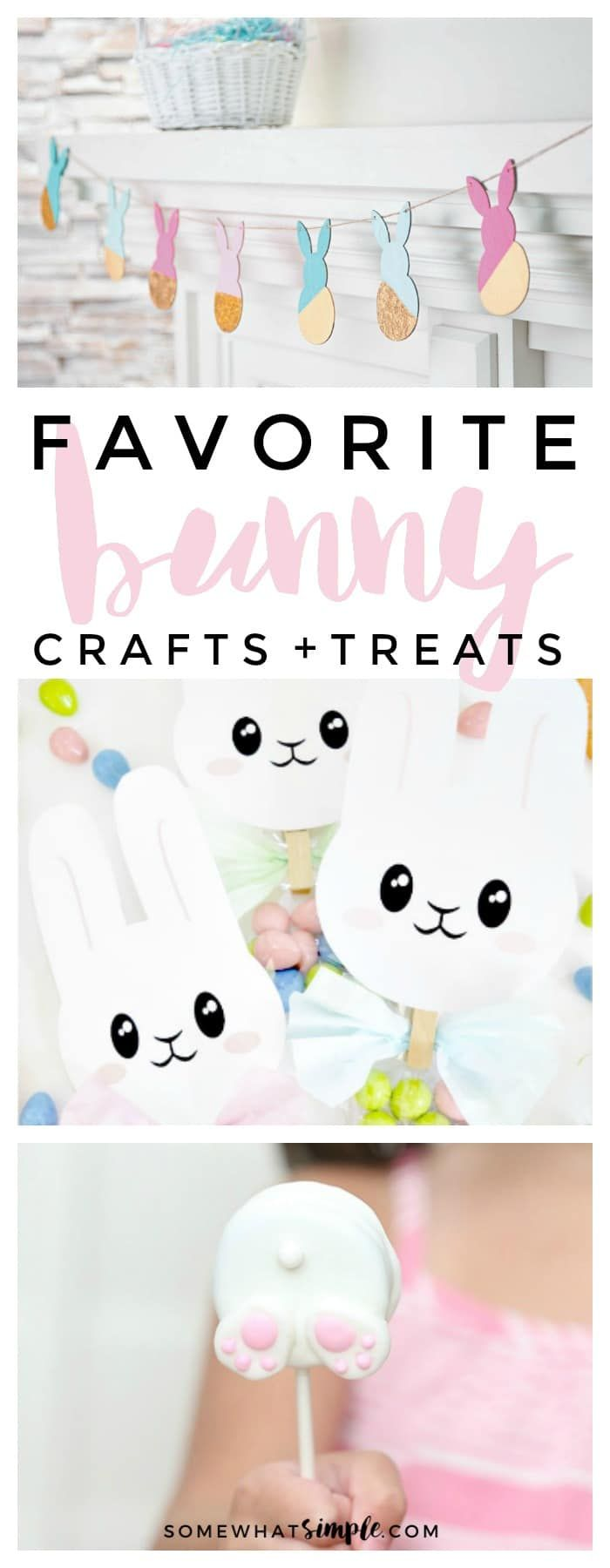 There's no better way to welcome Spring than by creating a few Easter Bunny Crafts!Here are some easy bunny crafts you can make to celebrate Easter!
