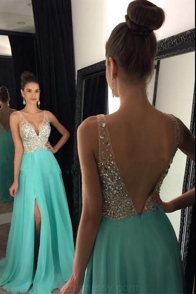 best open back prom dress 2018