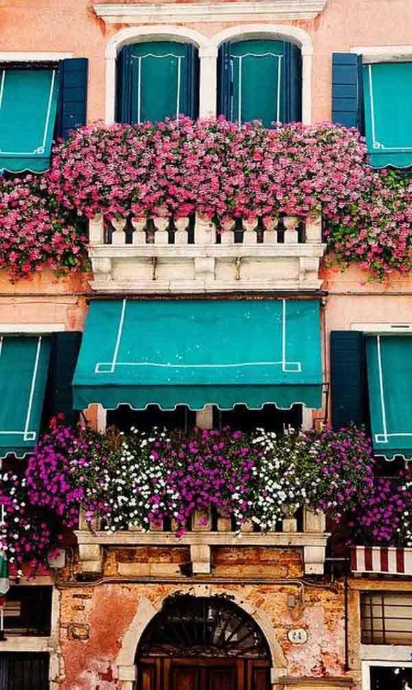 Inšpirujte sa. Úžasné balkónové záhrady nájdete na http://www.tojenapad.sk/uzasne-balkonove-zahrady/ | To je nápad!  #balcony #balkón #flowers #kvety #garden #záhrada #tojenápad