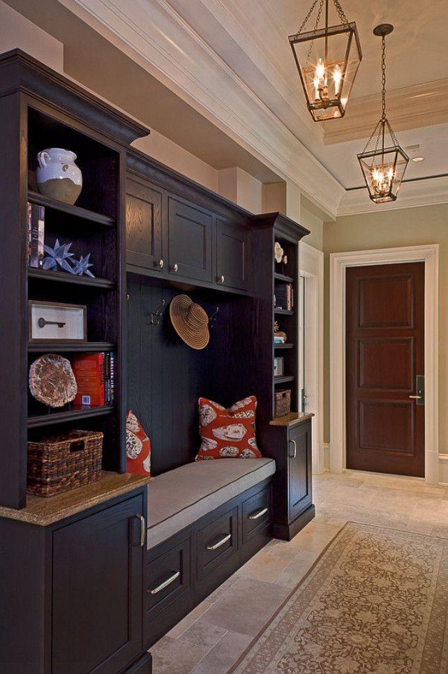 Mudroom Cabinet Design by AlliKristé Custom Cabinetry and Kitchen Design.  Beautiful! #mudroom homechanneltv.com