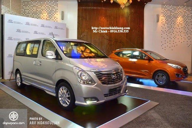 hyundai starex FL 2015 ra mắt cùng Hyundai Tucson 2015