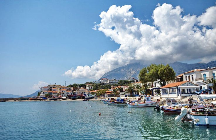 Marathokampos is a charming fishing village nestled on the slopes of Mount Kerkis on the northeastern part of Samos Island, 55km from Samos Town. The area of Ormos and Votsalakia are the most popular places in Marathokampos, with sandy/pebble beaches, small bars and taverns. #samos #marathokampos #samos_island #greece