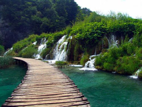 Plitvice Lakes National Park in Croatia: Nature Beauty, Beauty Plitvic, Beauty Preserves, Lakes National, Beauty Place, National Parks, Cascading Lakes, 10 National, Plitvic Lakes