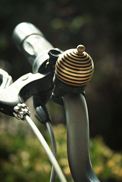 Little Bee Bell ... how sweet is this...I would like this for my bike