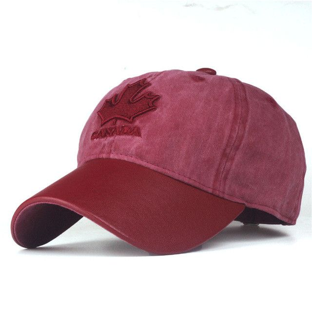 [Xthree] women baseball cap canada embroidery Letter snapback hat for men cap casquette gorras