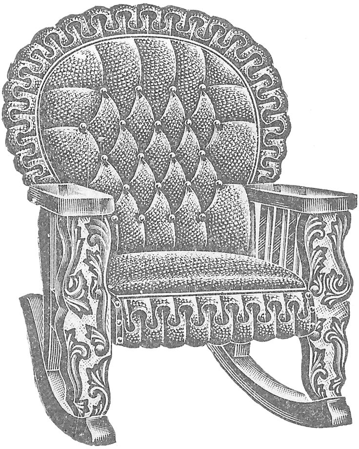 Leather, Straight Back Chair - Royalty Free Clipart Picture |Clipart Black Leather Chair