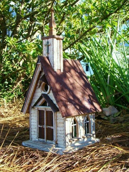 3127 Best Images About Rustic Birdhouses On Pinterest