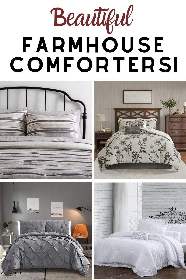 Farmhouse Comforters Rustic Comforters Farmhouse Goals In 2020 Farmhouse Bedding Sets Rustic Comforter Farmhouse Bedding