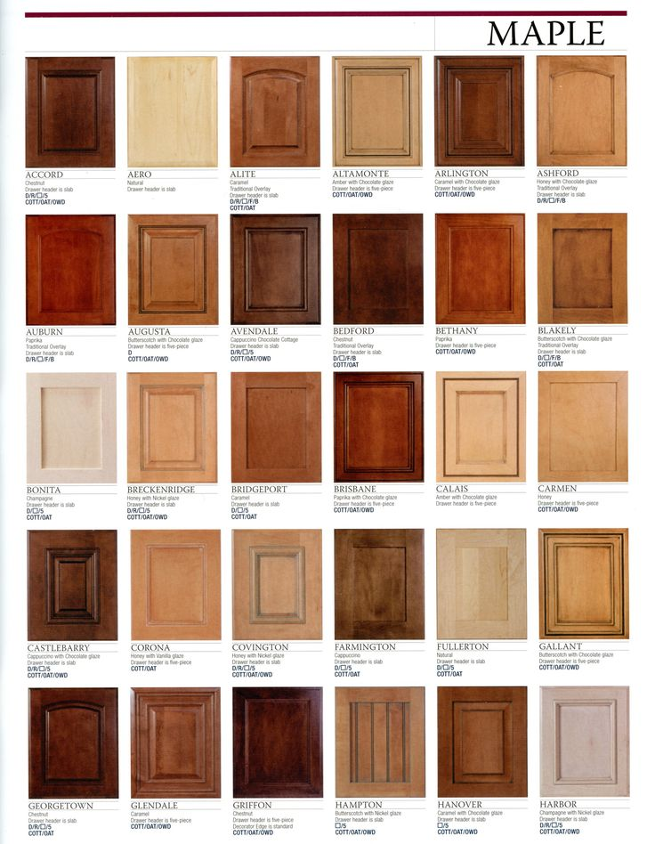 Maple stain colors kitchen remodel ideas pinterest for Kitchen cabinet door colors