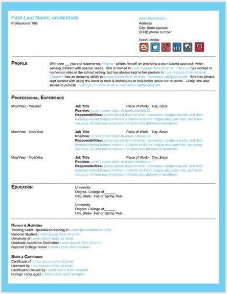 google doc template freebies - Resume Doc Template