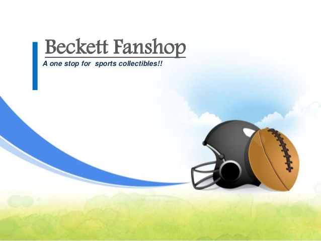 Buy sports teams clothing, accessories, drinkware & memorabilia online at Beckett Fanshop. For Details Visit:- http://goo.gl/eG0PDw