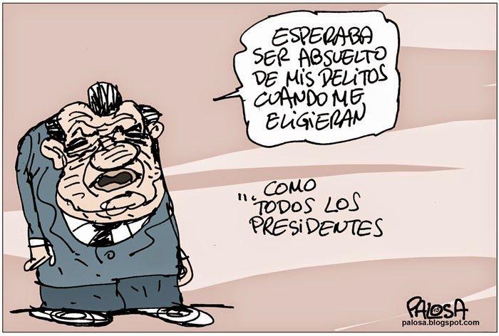 PALOSA - Caricatura Editorial: CHUZADAS Publicado 1 de febrero de 2015