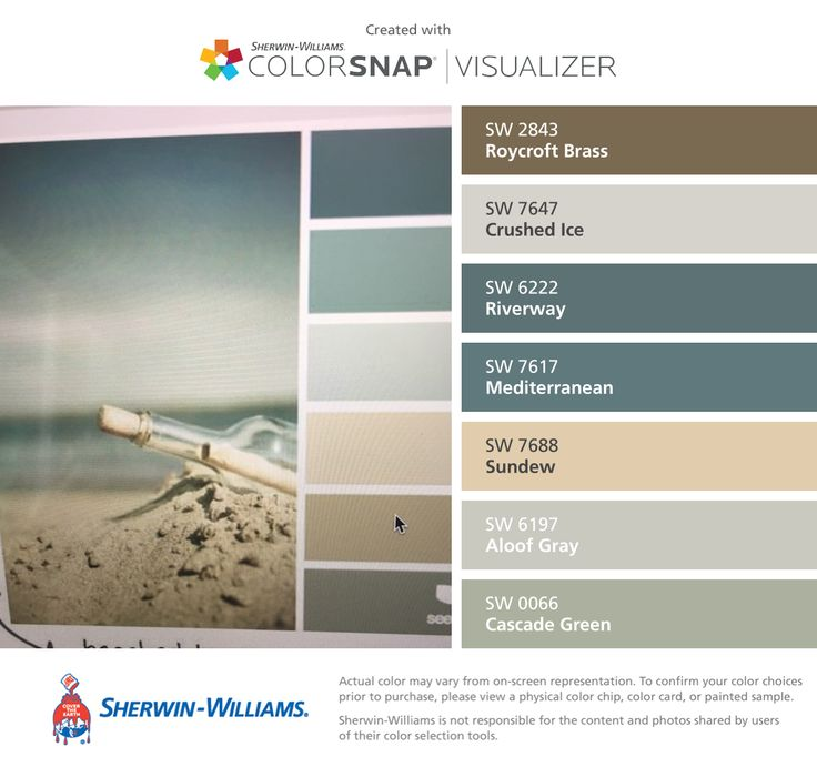 I found these colors with colorsnap visualizer for iphone by sherwin williams roycroft brass for Sherwin williams exterior paint color visualizer