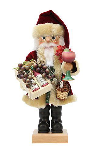 Nutcracker+Vine+Santa+limited+edition+-+46cm+/+18+inch