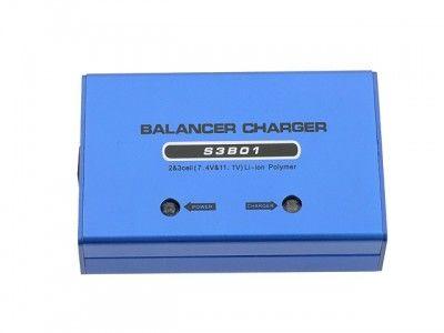 Ładowarka z balanserem do akumulatorów LiPo o napięciu 7,4V/11,1V [8FIELDS]
