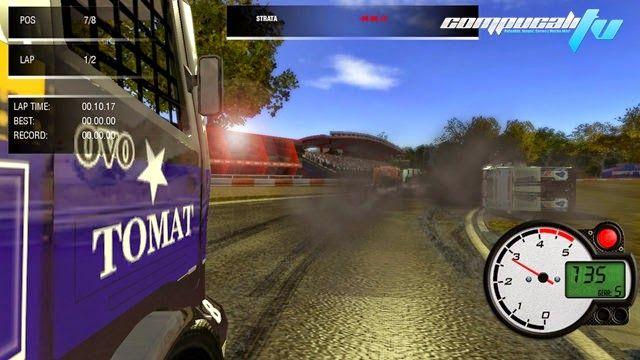 Nuevo juego de carreras para PC, llamado World Truck Racing PC un juego con coches de nascar que medirá tus habilidades al volante en este tipo de coches grandes