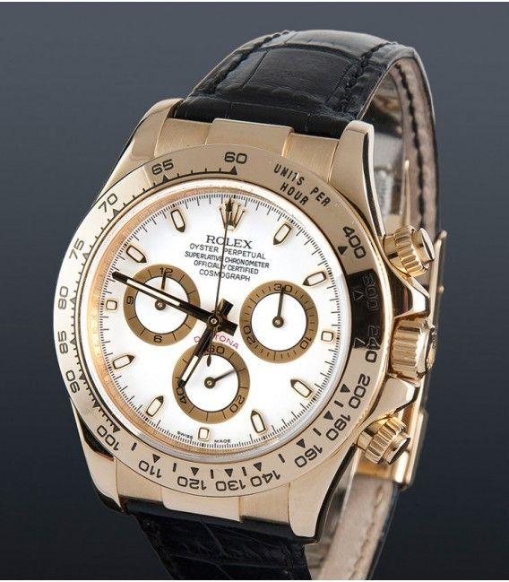 Reloj Rolex Oyster Perpetual Cosmograph Daytona Oro 116518