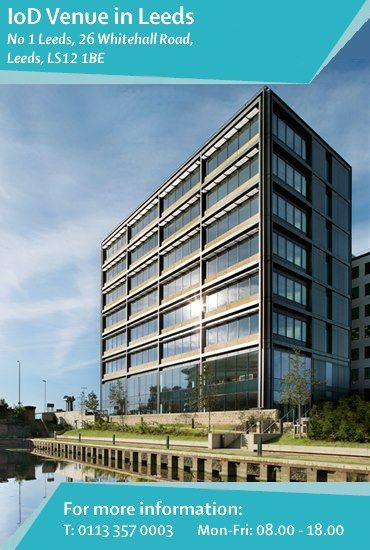 #Members can visit the #Yorkshire Regional #Office and make use of the facilities at the #i2 Office's #business #centre within No 1 #Leeds, a prestigious office space conveniently located on the west side of #Leeds city centre. Find out more: http://www.iod.com/your-venues-and-benefits/iod-venues/leeds