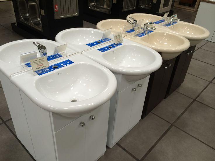 Gran Variedad de muebles de baños a escoger y listos para llevar.