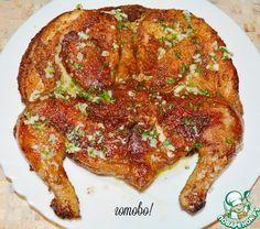 Цицила - цыпленок, тапак - сковорода. По-русски получается цыпленок жареный на сковороде.