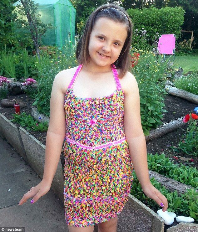 A family affair: Abigail will spend her £45 profit on a fish and chip dinner with her folks on their next holiday