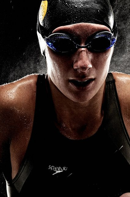 Swimmer, sports photography
